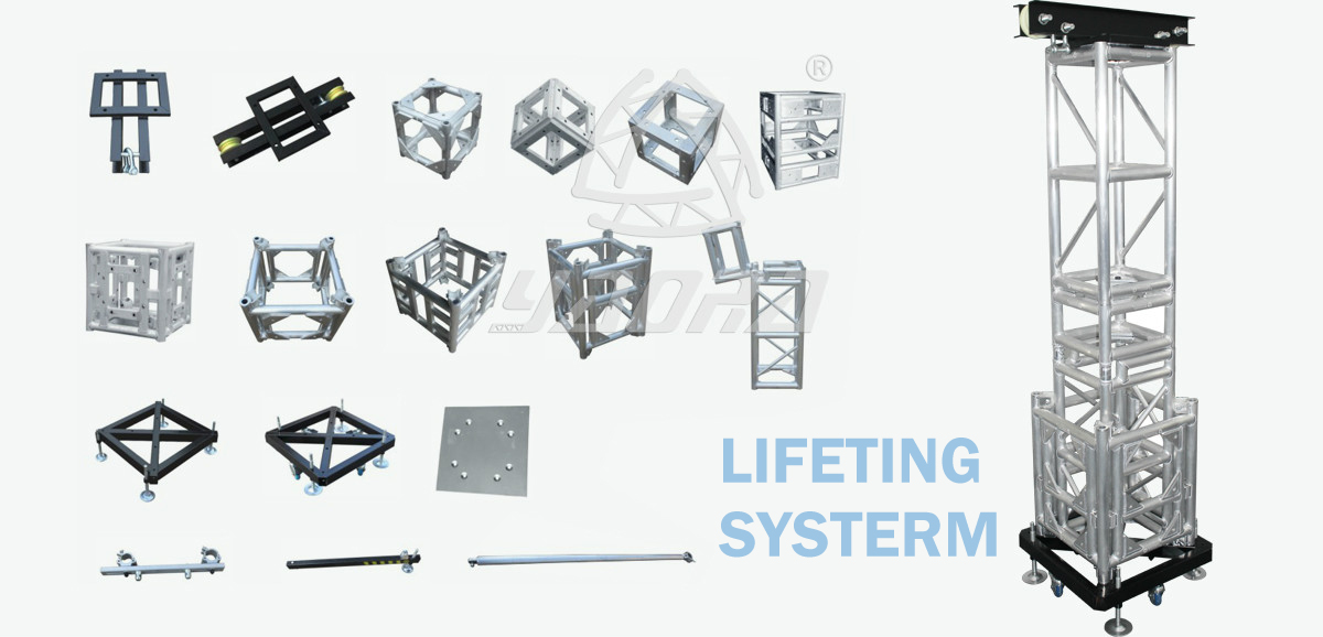 Square Lighting Truss Accessories