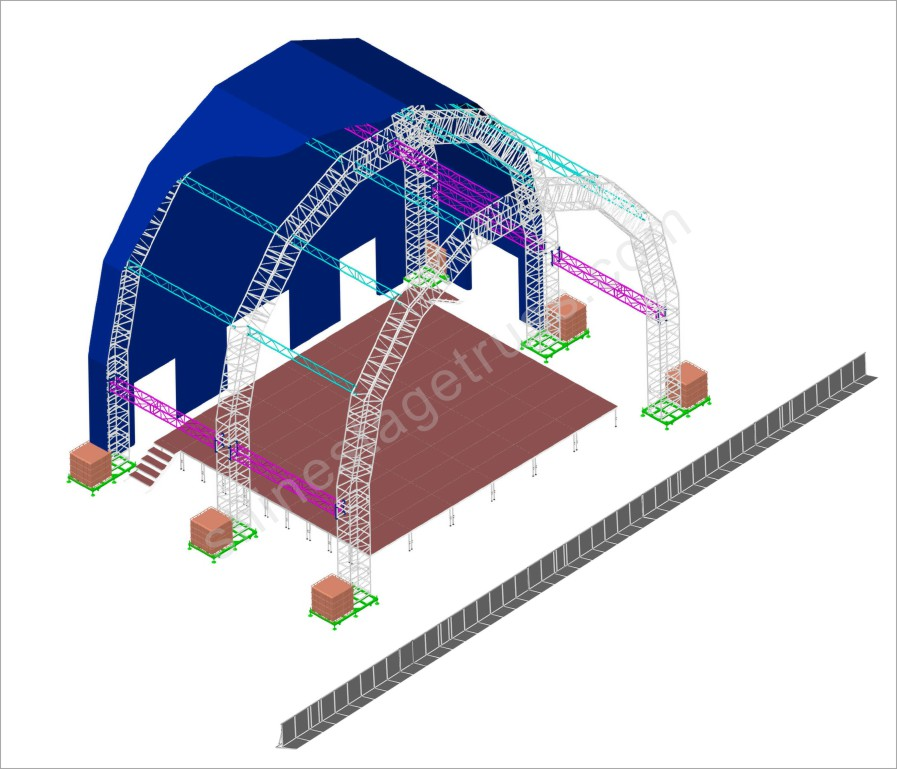 Entertainment truss Project