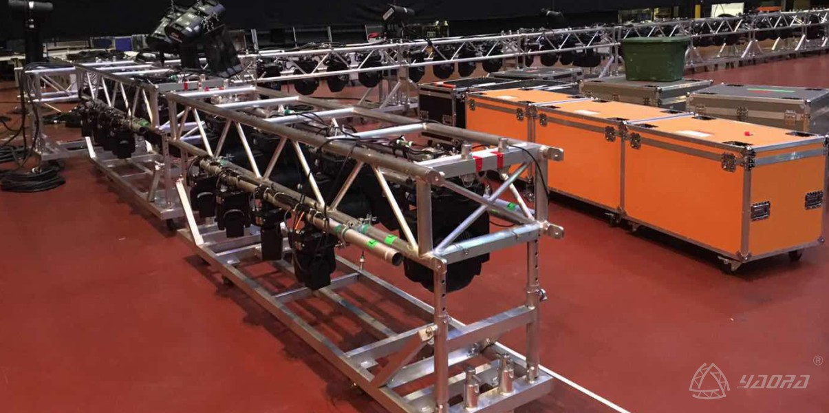 Boxing Tour Stage Truss System Projects