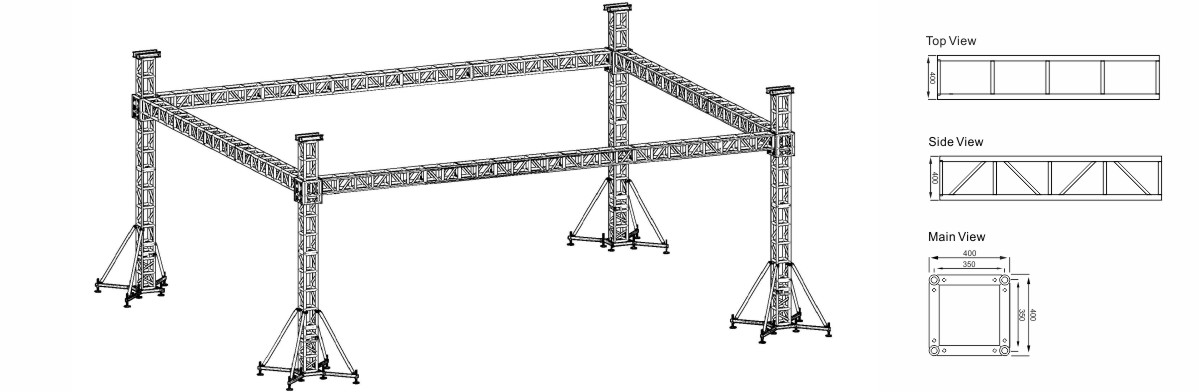 Square Bolt Truss Project Design
