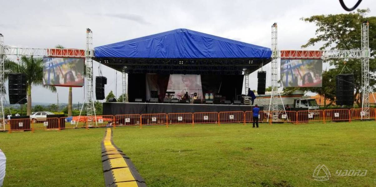 Shinetruss Help Uganda Star Concert Stage Truss