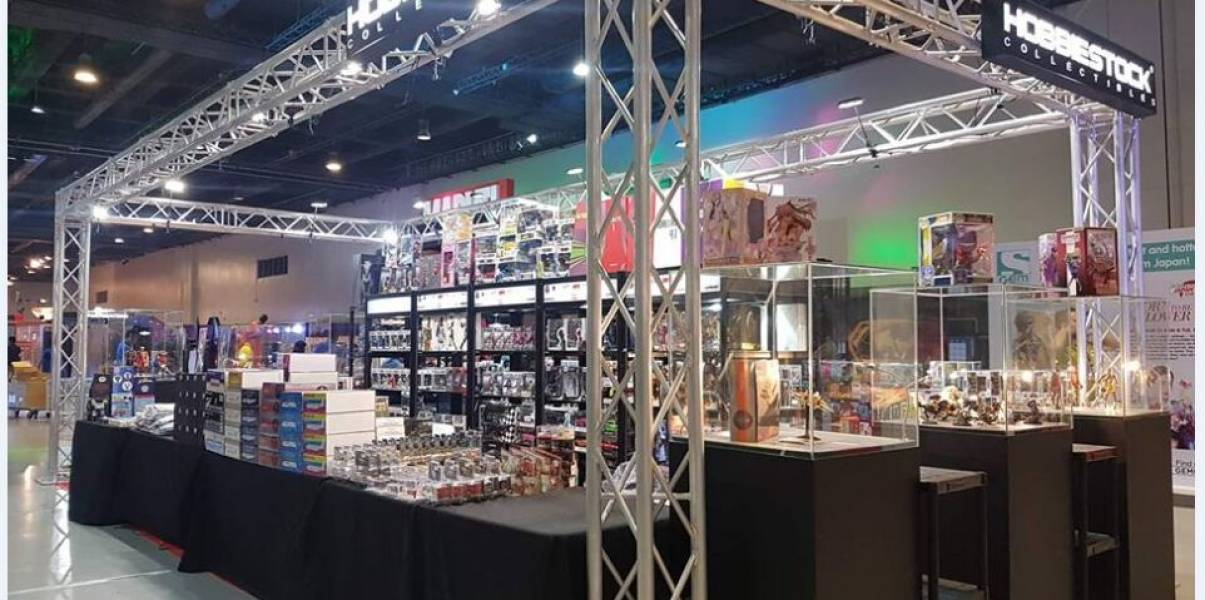 Square Exhibition Truss For 2018 Philippine Toycon Show