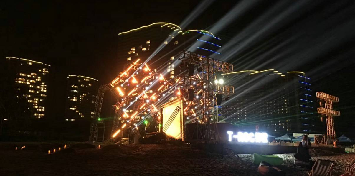 Shinestage Stage Truss For Fishing Festival Hailing Island