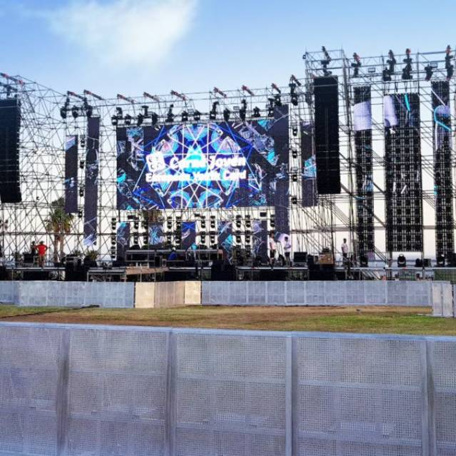 Crowd Safety Solution -Shinestage Aluminum Riot Barrier