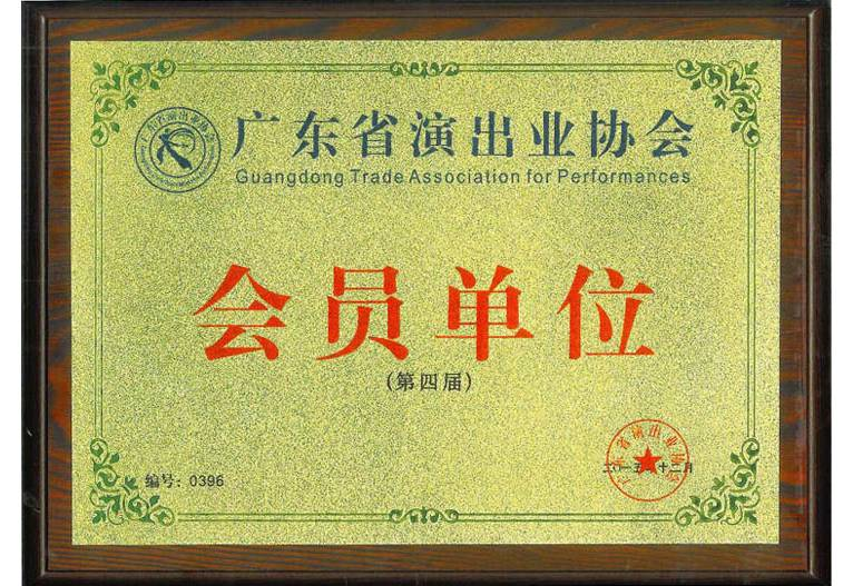 Member Unit of Performance Association