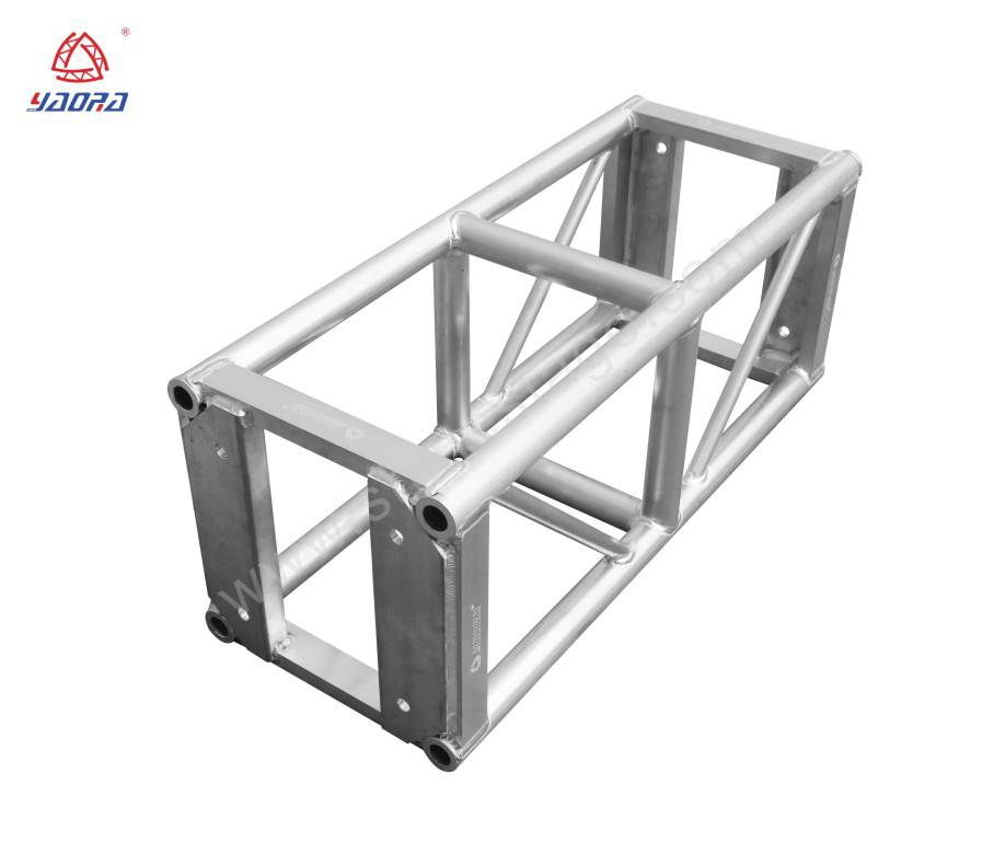12' Aluminum Square Box Truss With Base Plate