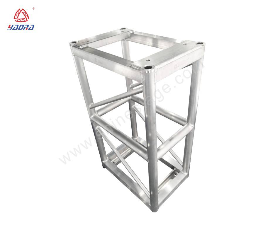 400*600 Heavy Duty Aluminum Square Bolt Truss For Concert Event