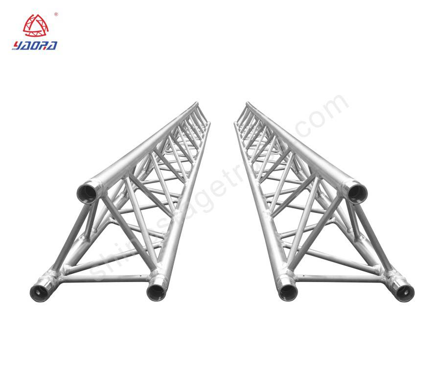 Lightweight Aluminum Square Triangle Truss For Trad Show