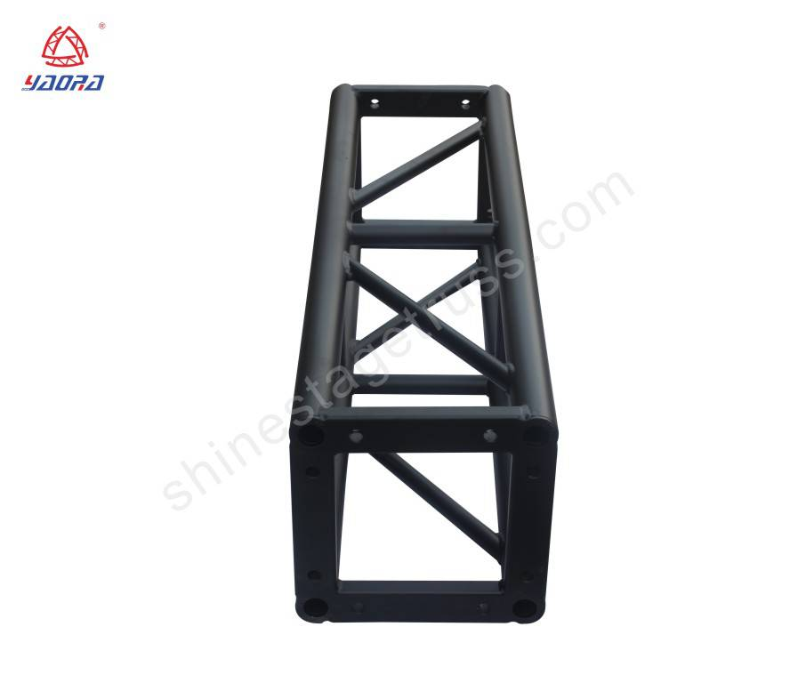 300mm Aluminum Bolt Square Truss For Stage Backdrop Decorative