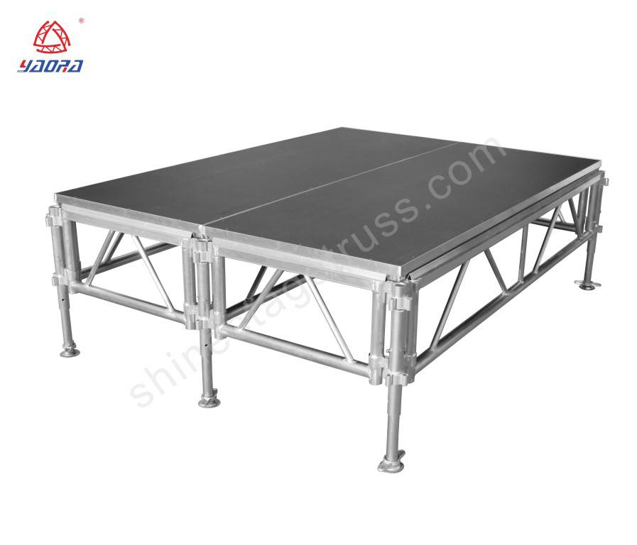 1.2*2.4m Portable Performance Stage For School Events