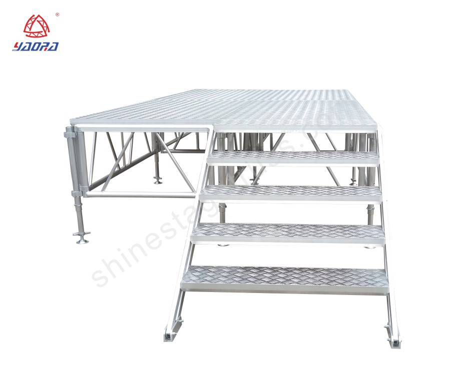 1*2m Portable  Assemble Stage For Outdoor Concert