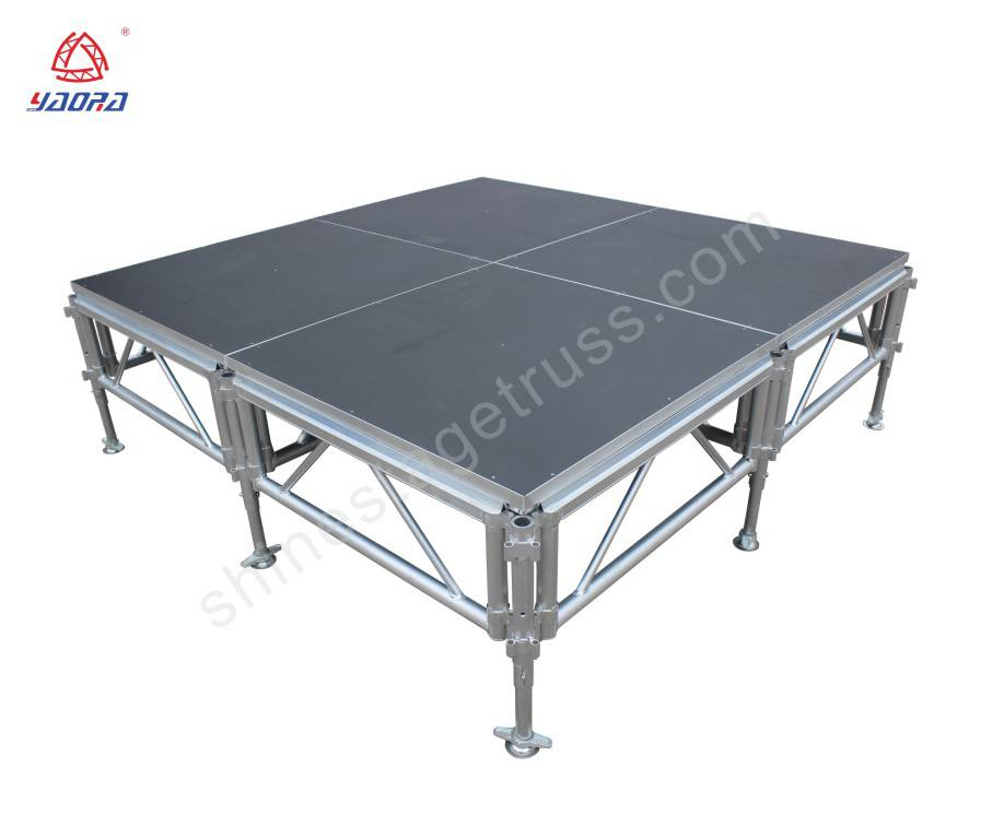1.22*1.22m Assemble Stage For Christmas Events
