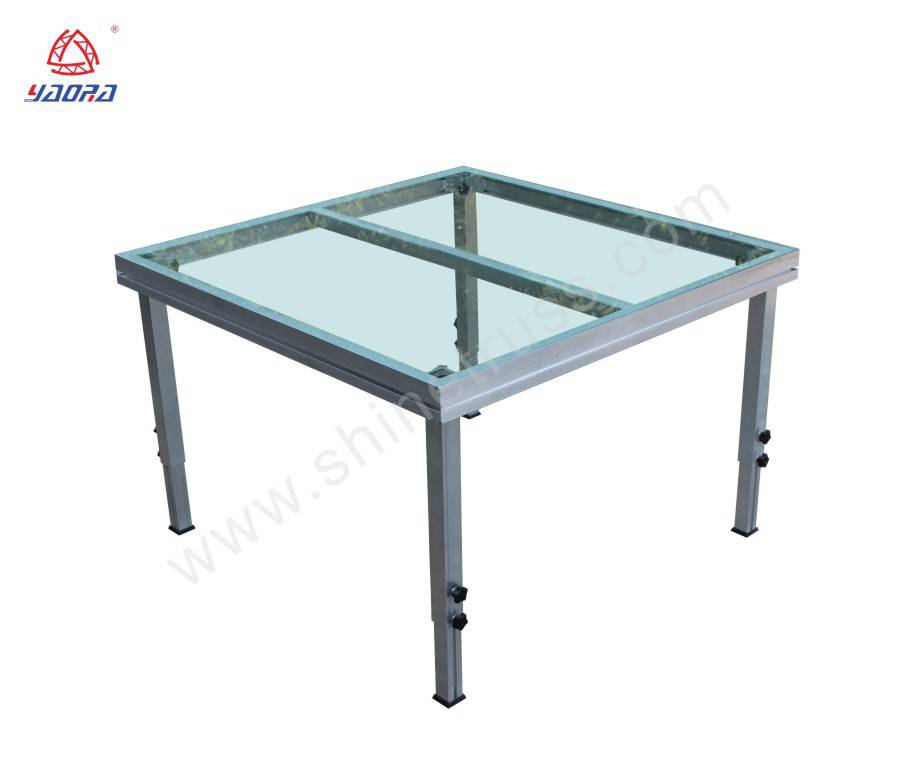 Portable Acrylic Glass Dance Stage/ Event Stage