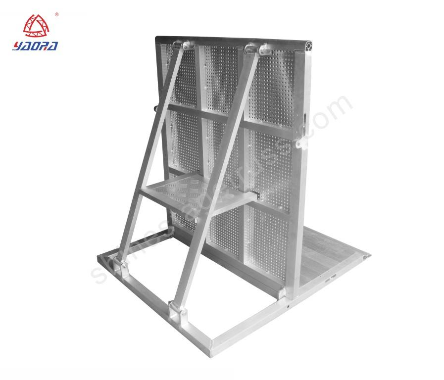 Portable Aluminum Stage Barriers