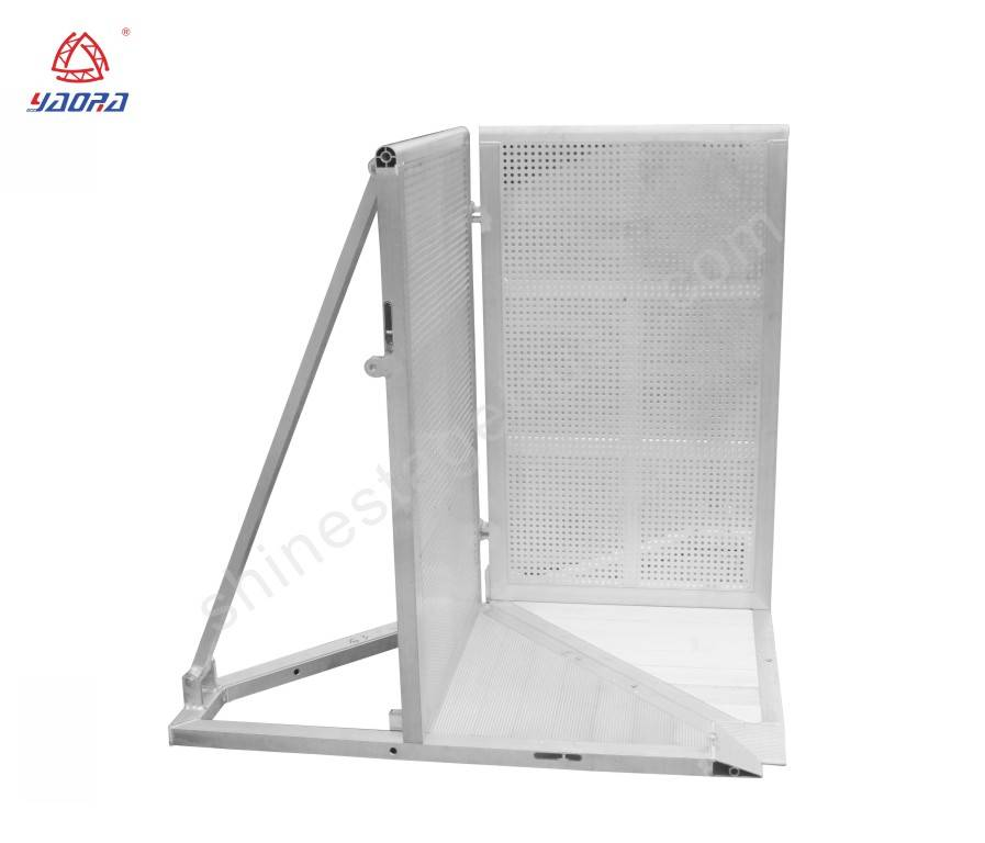 Temporary 90 VARIO CORNER Barrier For Stage Safety