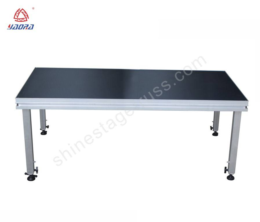 Aluminum Quick Stage Platform For Outdoor Concert Event 1*2M